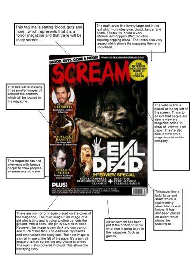 magazine 1- scream