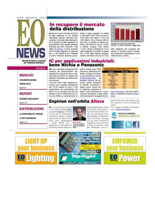 Report 'Sistemi Intelligenti' di Francesca Prandi - EONews n. 56