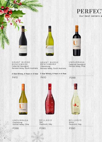 WINE DEPOT CHRISTMAS CATALOGUE 2016