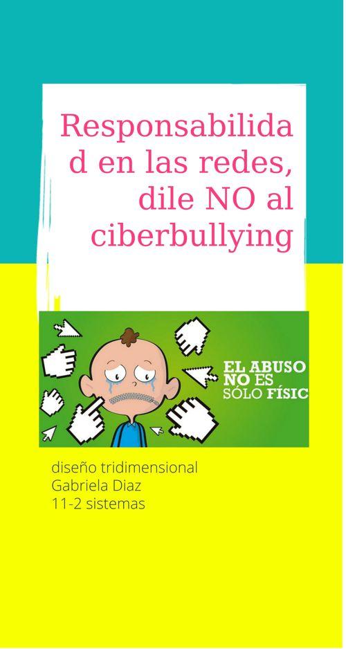 no al ciberbullying