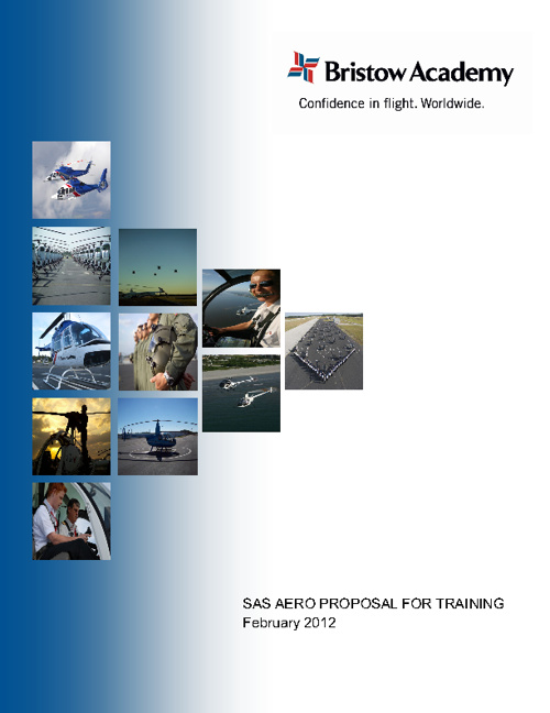 SAS Aero Proposal for EASA Training