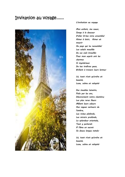 May Term Paris 2013 Itinerary