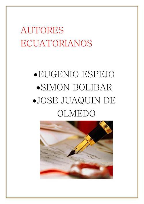 ENSAYOS DE LIBERTADORES
