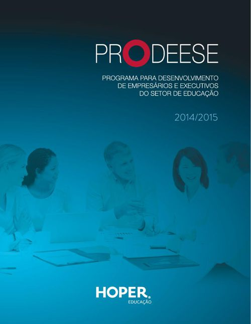 PRODEESE Ciclo 2014/2015