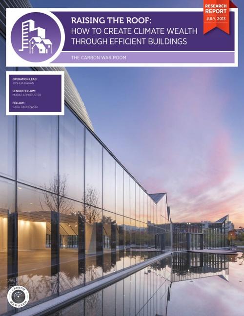 Energy Efficiency: Raising the Roof