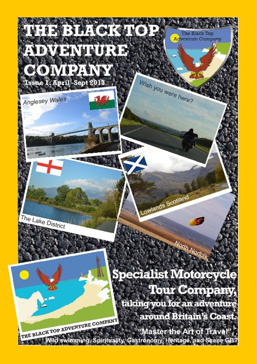 The Black Top Adventure Company Brochure 2013 Issue 1