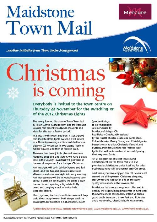 MTCM Autum/Winter 2012 Newsletter