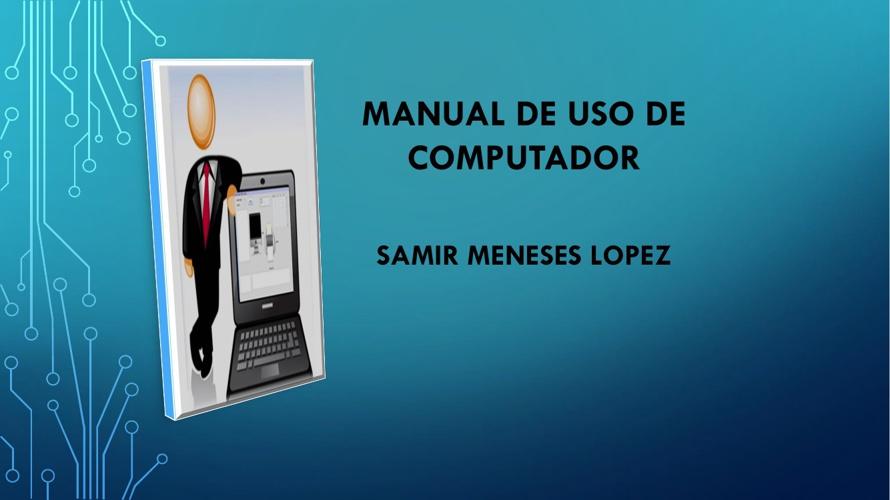 Manual de Uso de Computador.