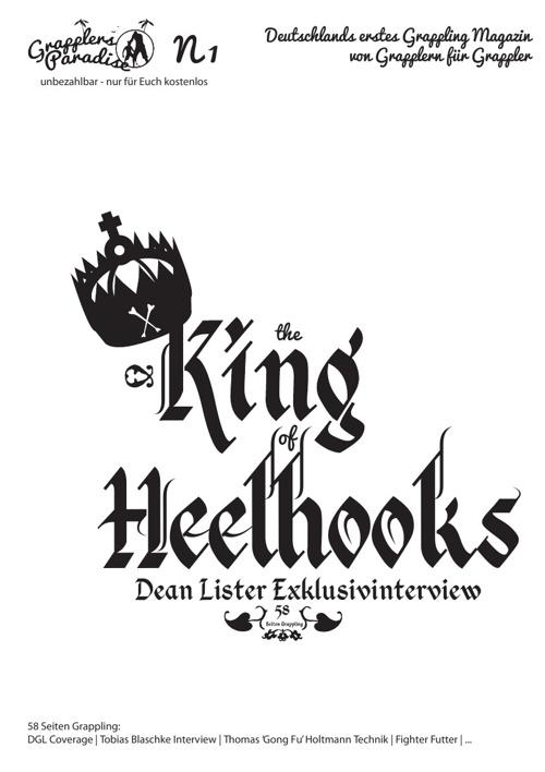 Grapplers Paradise Magazin No.1 - The King of Heelhooks