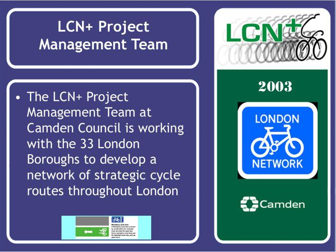 2003 London Bicycle Webmap presentation