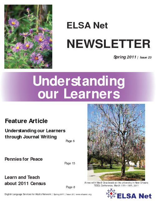 ELSA Net Newsletter / Spring 2011