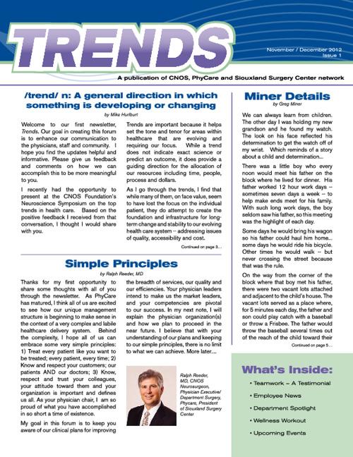 Trends Newsletter Nov Dec 2012