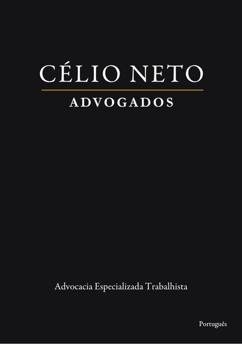 Célio Neto Advogados - Versão PT