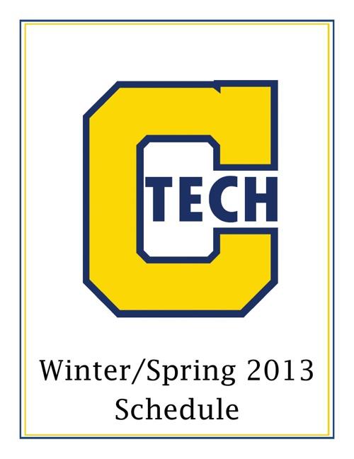 CTech Winter/Spring 2013