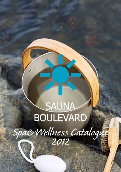 Sauna Boulevard Spa & Wellness Catalogue 2012