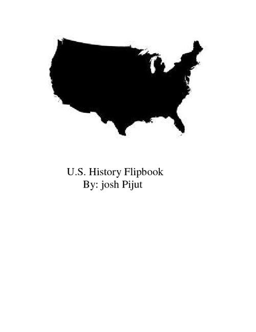 U.S. History Flipbook