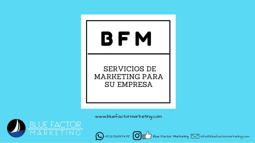 Servicios Blue Factor Marketing