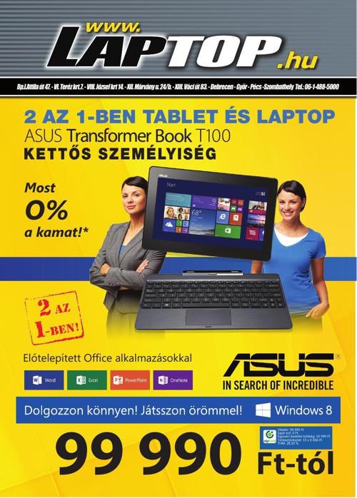 Laptop.hu Nyári Katalógus