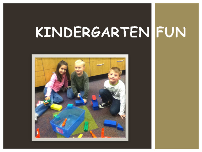 Kindergarten Fun p.m.