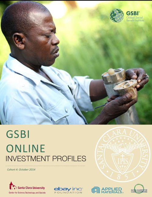 GSBI Online - Cohort 4 Investment Packet