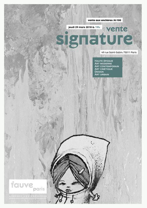 FauveParis | Vente signature | 29 mars 2018