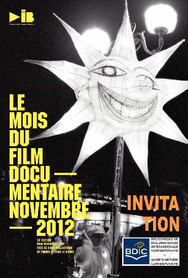 Le Mois du Film documentaire - Invitation BDIC