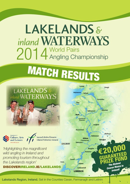 Lakelands & inland Waterways World Pairs Angling