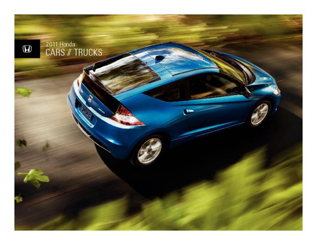Honda Cars Brochure
