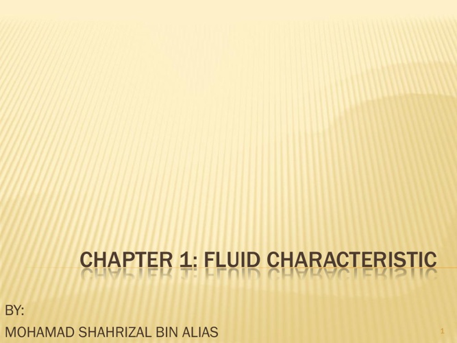 CHAPTER_1_-_Fluid_Characteristic