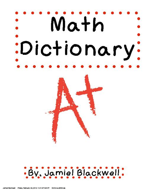 Basic Math Terms