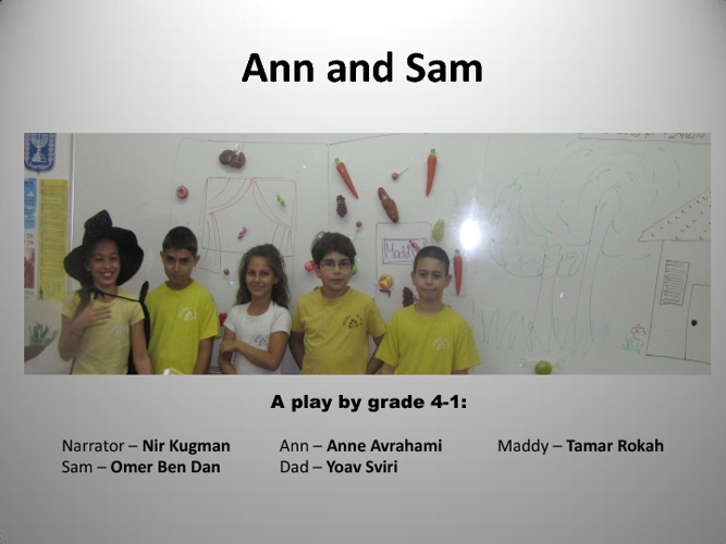 Sam and Ann