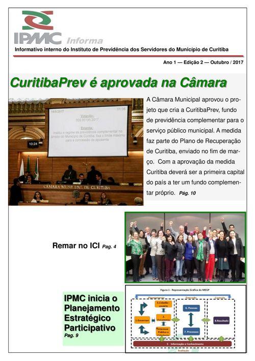 Informativo IPMC 2° Edição