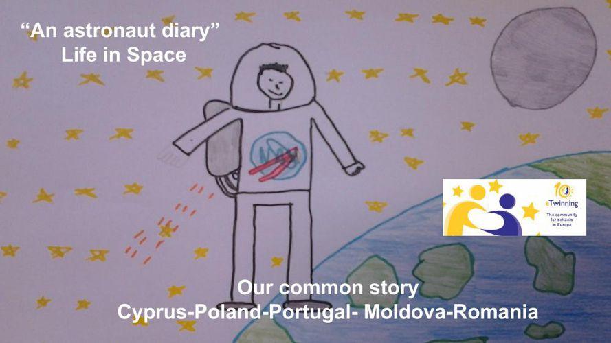 """""""An astrοnaut diary"""""""