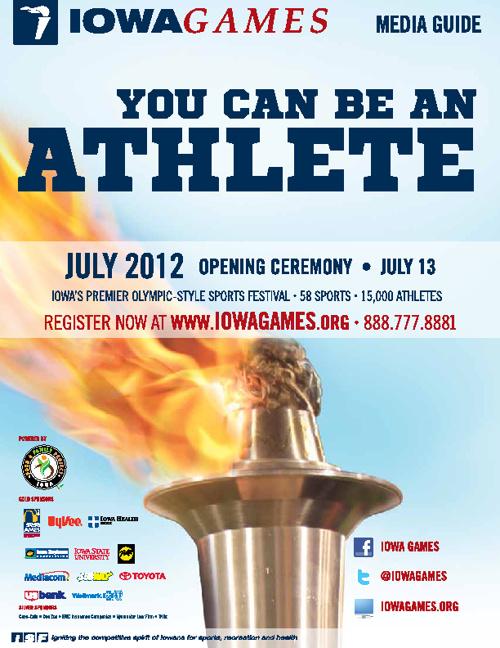 2012 Summer Iowa Games Media Guide