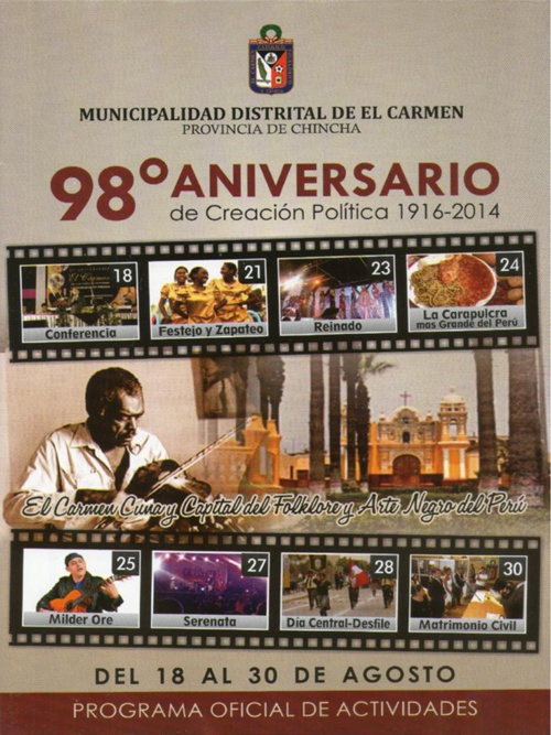 Programa El Carmen 2014