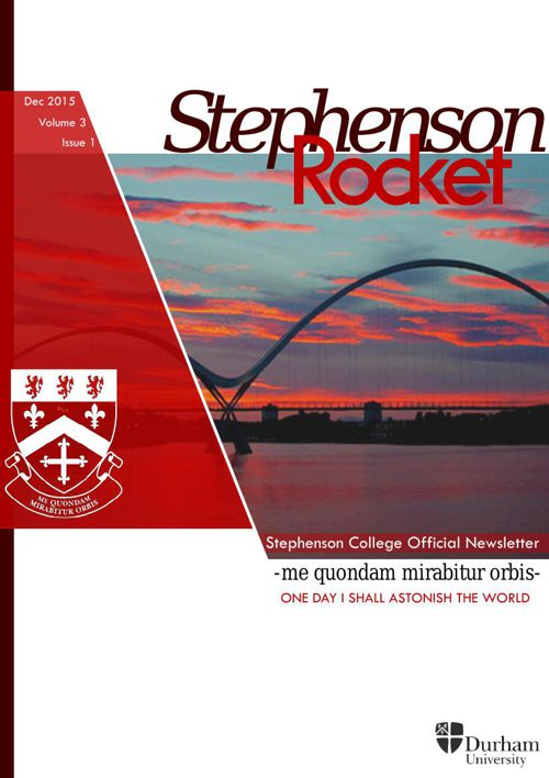 The Stephenson Rocket - December, Michaelmas Term 2016
