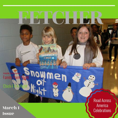 Newsletter March I Issue