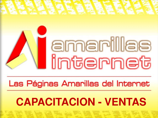 CAPACITACION DE VENTAS Amarillas Internet