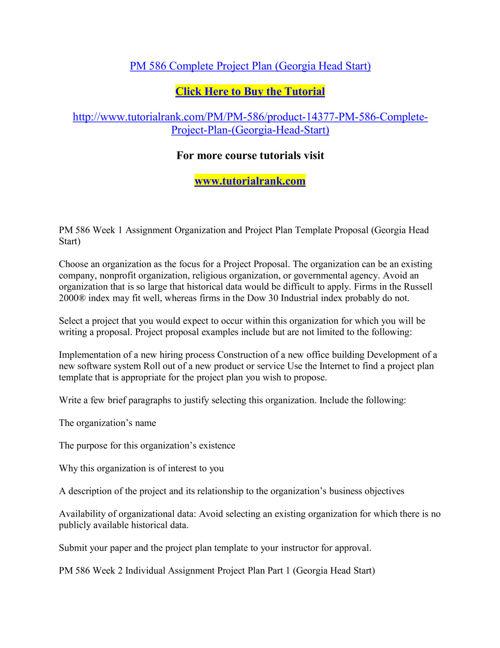 PM 586 Course Extraordinary Success/ tutorialrank.com