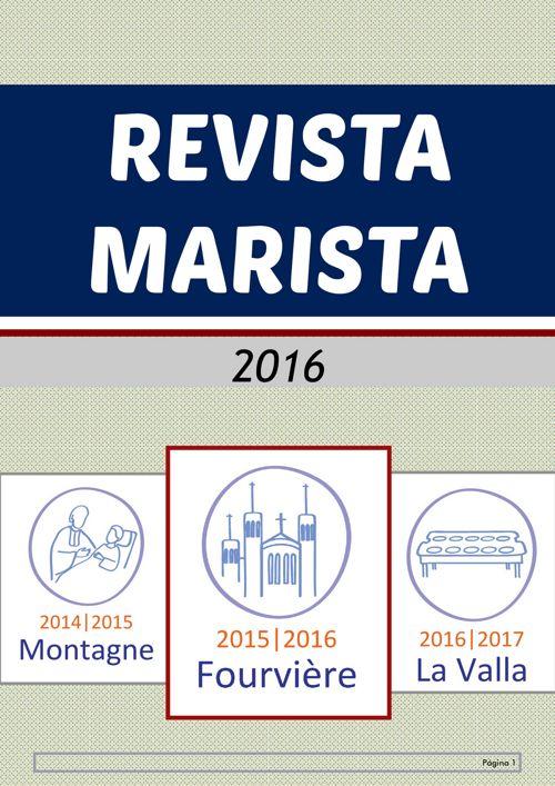 Revista 2016 Proyecto Marista