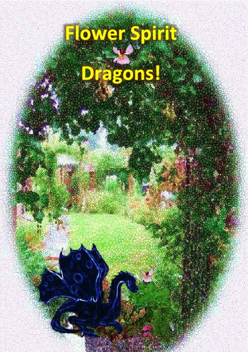 Flower Spirit Dragon