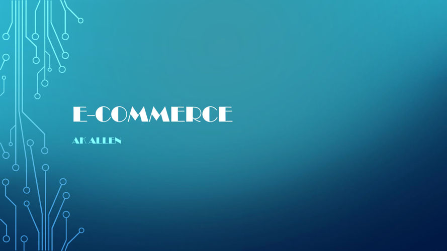 E-Commerce Power point