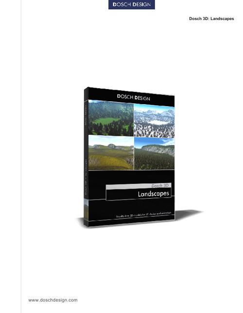 20_DOSCH 3D - Landscapes