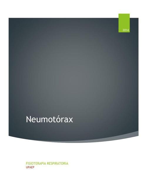 Neumotorax (1)