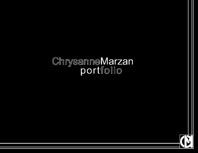 Chrysanne Marzan - Junior Designer
