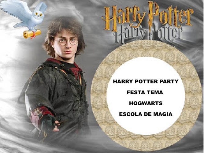 Healthy Life Festa de Aniversario Harry Potter