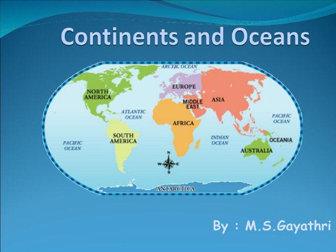 ContinentsandOceans