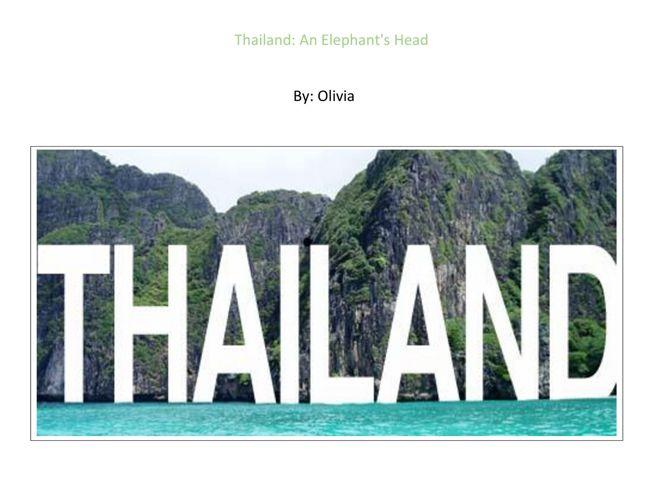 Olivia - Thailand