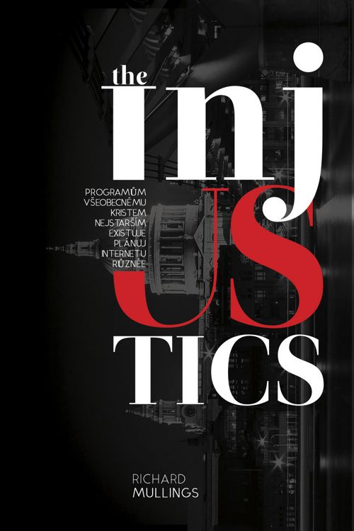 Injustics Book Cover Photoshop Template