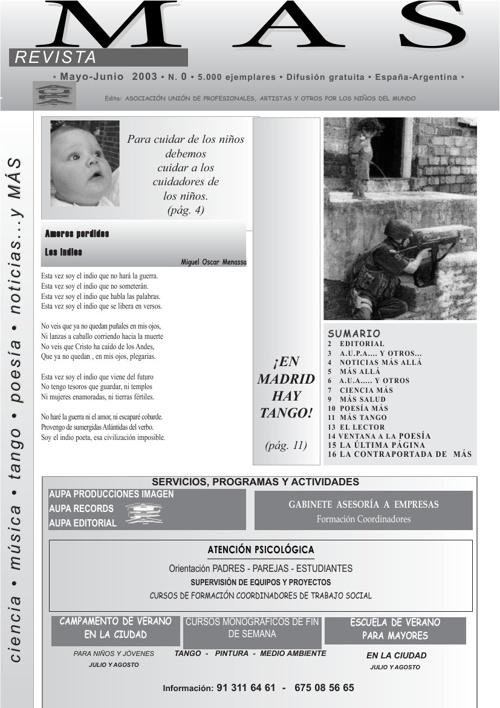 revista Mas numero 0